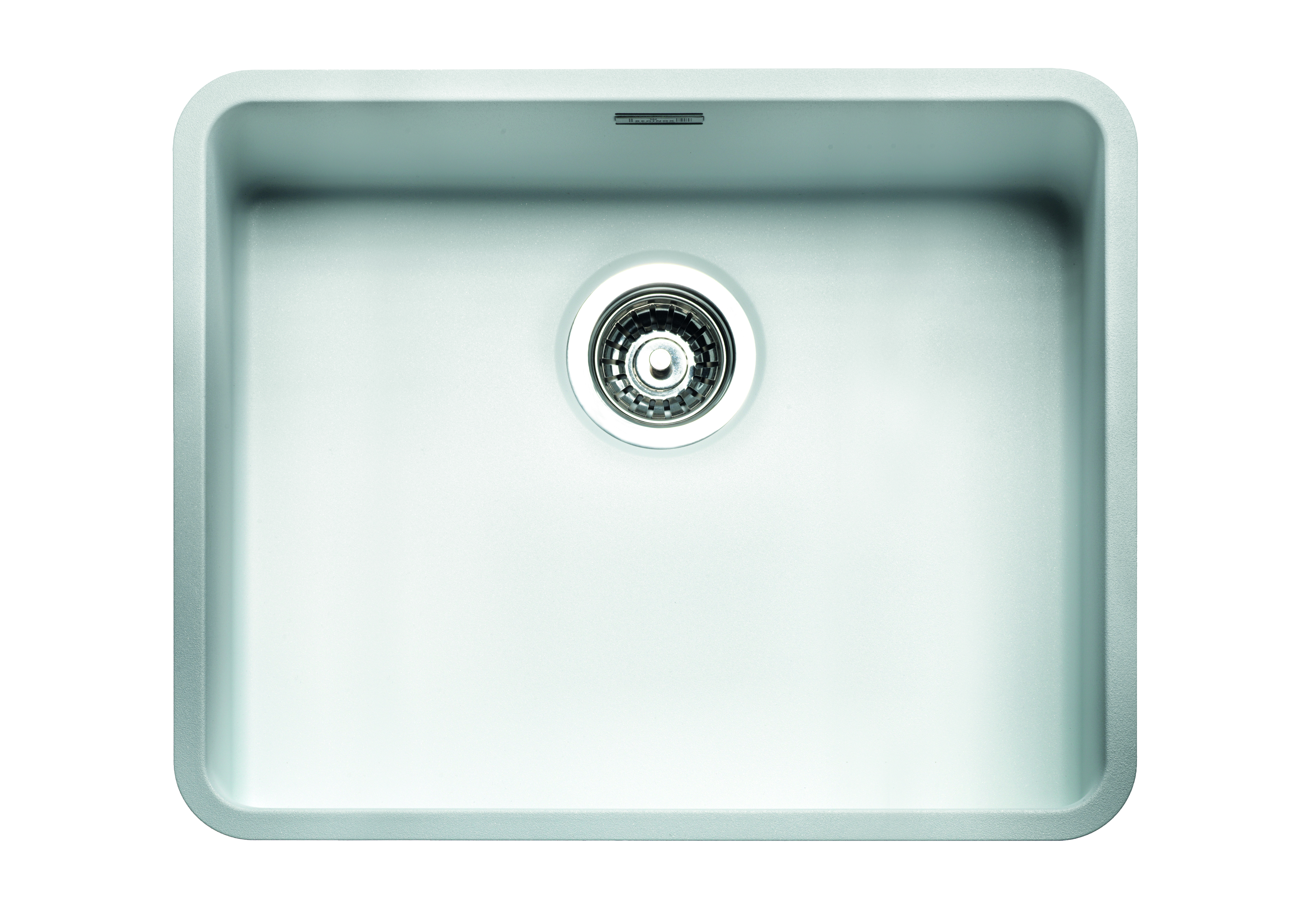 50 40 Arctic White Stainless Steel Coloured Sink Ik730003