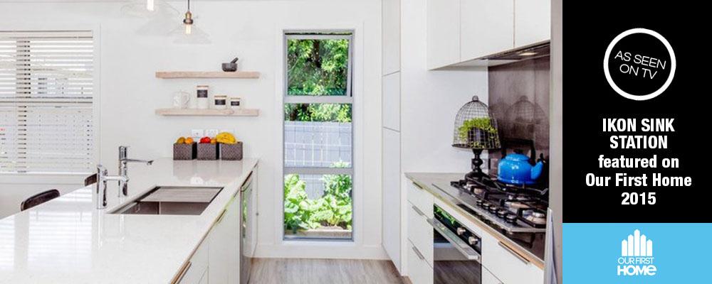 ikon sink station video - Kitchen Sinks Nz