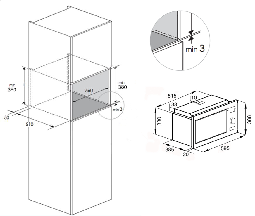microwave dimensions built in bestmicrowave. Black Bedroom Furniture Sets. Home Design Ideas